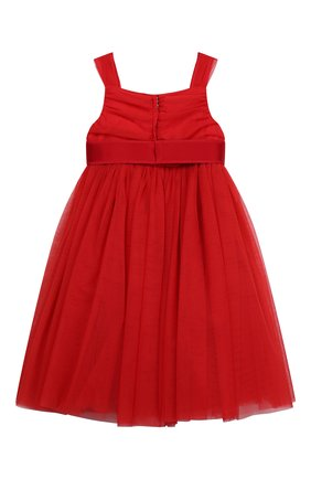 Детское платье DOLCE & GABBANA красного цвета, арт. L52DA0/HLMMR/2-6 | Фото 2