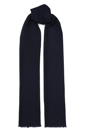 Мужской шерстяной шарф ETON темно-синего цвета, арт. A000 28049 | Фото 1
