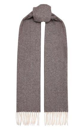 Мужской шерстяной шарф ETON темно-коричневого цвета, арт. A000 30132 | Фото 1