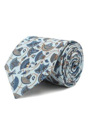 Мужской шелковый галстук ETON голубого цвета, арт. A000 31859 | Фото 1
