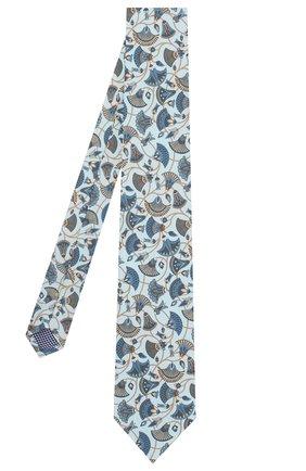 Мужской шелковый галстук ETON голубого цвета, арт. A000 31859 | Фото 2
