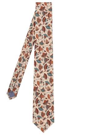Мужской шелковый галстук ETON бежевого цвета, арт. A000 31859 | Фото 2