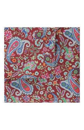Мужской шелковый платок ETON красного цвета, арт. A000 31945 | Фото 1