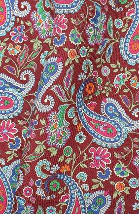 Мужской шелковый платок ETON красного цвета, арт. A000 31945 | Фото 2