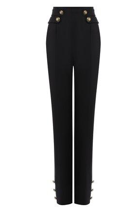 Женские шерстяные брюки OSCAR DE LA RENTA черного цвета, арт. 19FN314BIS | Фото 1