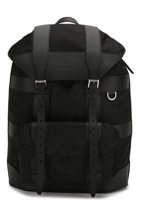 Мужской комбинированный рюкзак BERLUTI черного цвета, арт. M192890 | Фото 1