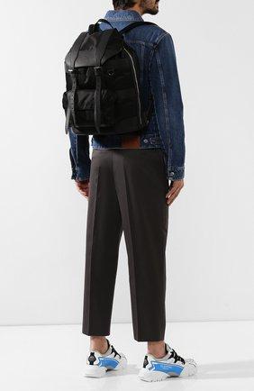 Мужской комбинированный рюкзак BERLUTI черного цвета, арт. M192890 | Фото 2