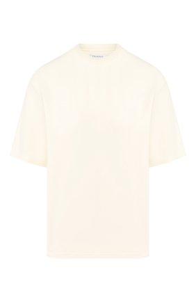 Женская футболка DEVEAUX бежевого цвета, арт. W192-603-ZE2 | Фото 1