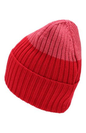 Женский шерстяная шапка WOOLRICH красного цвета, арт. WWACC1459/UF0096 | Фото 2