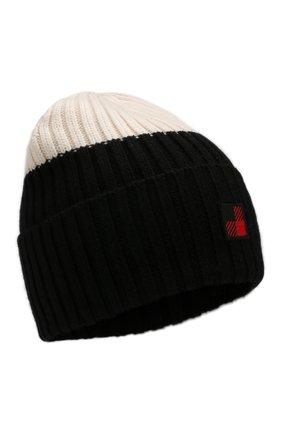 Женский шерстяная шапка WOOLRICH черно-белого цвета, арт. WWACC1459/UF0096 | Фото 1