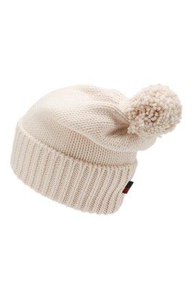 Женский шерстяная шапка WOOLRICH белого цвета, арт. WWACC1460/UF0096 | Фото 2