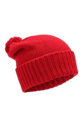 Женский шерстяная шапка WOOLRICH красного цвета, арт. WWACC1460/UF0096 | Фото 1