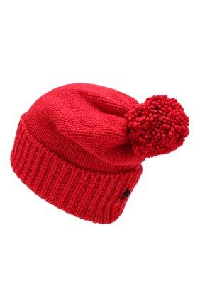Женский шерстяная шапка WOOLRICH красного цвета, арт. WWACC1460/UF0096 | Фото 2