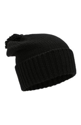 Женский шерстяная шапка WOOLRICH черного цвета, арт. WWACC1460/UF0096 | Фото 1