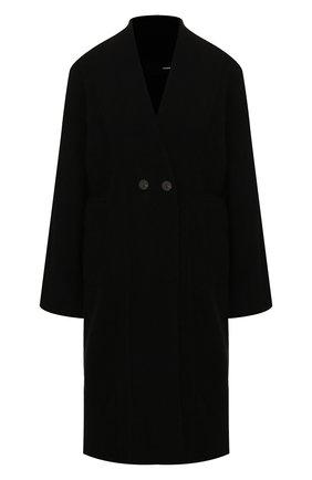 Женский шерстяной кардиган ISABEL BENENATO черного цвета, арт. DK83F19 | Фото 1