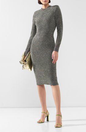 Женское платье DRIES VAN NOTEN разноцветного цвета, арт. 192-11249-8729 | Фото 2