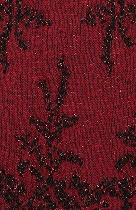 Женские носки с металлизированной нитью OROBLU бордового цвета, арт. V0BFCF5XSP | Фото 2