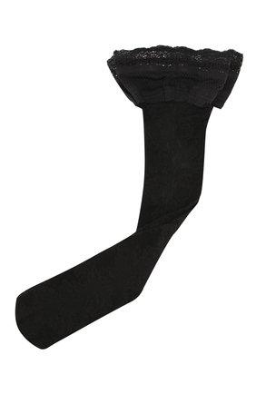 Женские чулки OROBLU черного цвета, арт. V0BC65799 | Фото 1