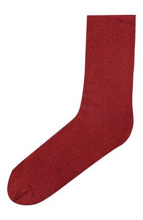Женские носки с металлизированной нитью OROBLU бордового цвета, арт. V0BC65559 | Фото 1