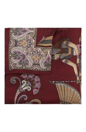 Мужской шелковый платок ETON бордового цвета, арт. A000 31897 | Фото 1