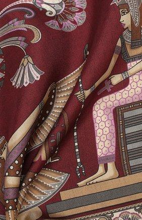 Мужской шелковый платок ETON бордового цвета, арт. A000 31897 | Фото 2