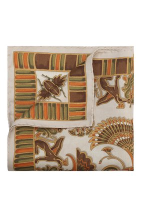 Мужской шелковый платок ETON кремвого цвета, арт. A000 31898 | Фото 1