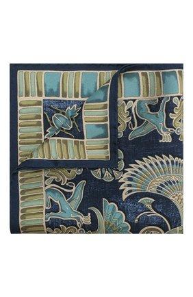 Мужской шелковый платок ETON темно-синего цвета, арт. A000 31898 | Фото 1