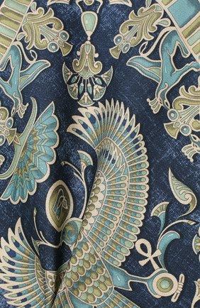Мужской шелковый платок ETON темно-синего цвета, арт. A000 31898 | Фото 2