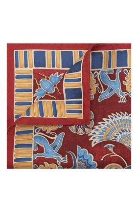 Мужской шелковый платок ETON бордового цвета, арт. A000 31898 | Фото 1