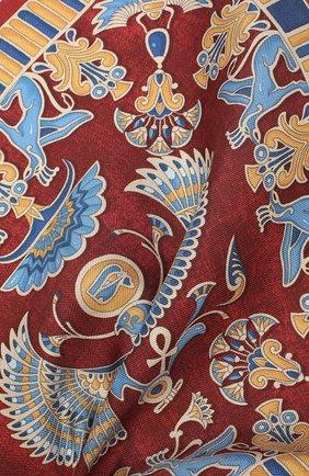 Мужской шелковый платок ETON бордового цвета, арт. A000 31898 | Фото 2