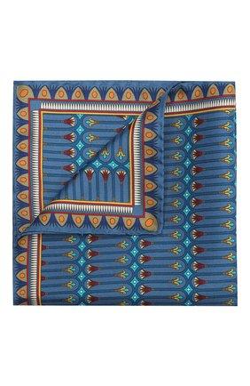 Мужской шелковый платок ETON синего цвета, арт. A000 31944 | Фото 1