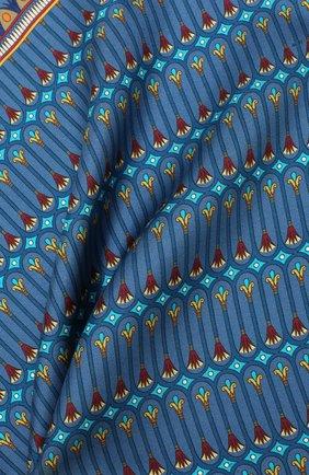 Мужской шелковый платок ETON синего цвета, арт. A000 31944 | Фото 2