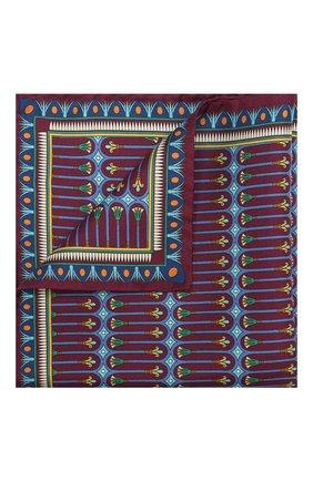 Мужской шелковый платок ETON бордового цвета, арт. A000 31944 | Фото 1
