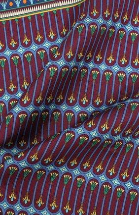 Мужской шелковый платок ETON бордового цвета, арт. A000 31944 | Фото 2