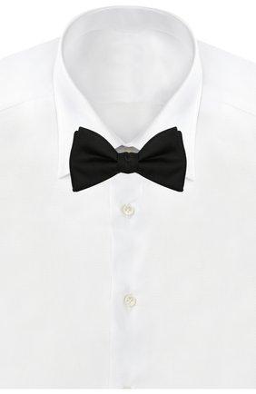 Мужской шелковый галстук-бабочка ETON черного цвета, арт. A101 45101 | Фото 2