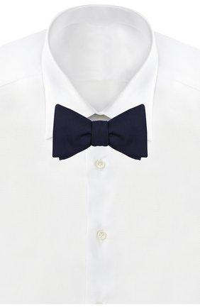 Мужской шелковый галстук-бабочка ETON темно-синего цвета, арт. A101 45101 | Фото 2