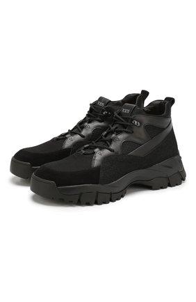 Комбинированные ботинки | Фото №1