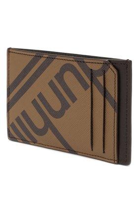 Мужской футляр для кредитных карт DUNHILL коричневого цвета, арт. DU19F260CSC | Фото 2