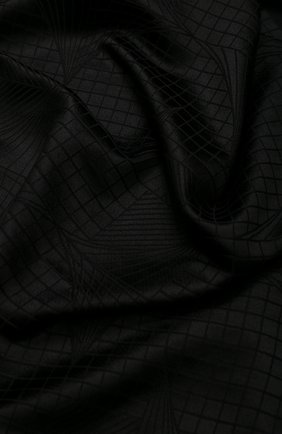 Мужской шарф из смеси кашемира и шелка ZILLI черного цвета, арт. MIS-MILLA-0WSSE/0001 | Фото 2