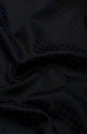 Мужской шарф из смеси кашемира и шелка ZILLI темно-синего цвета, арт. MIS-MILLA-0WSSE/0001 | Фото 2