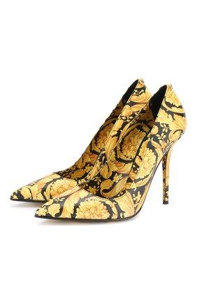 Кожаные туфли Barocco | Фото №1
