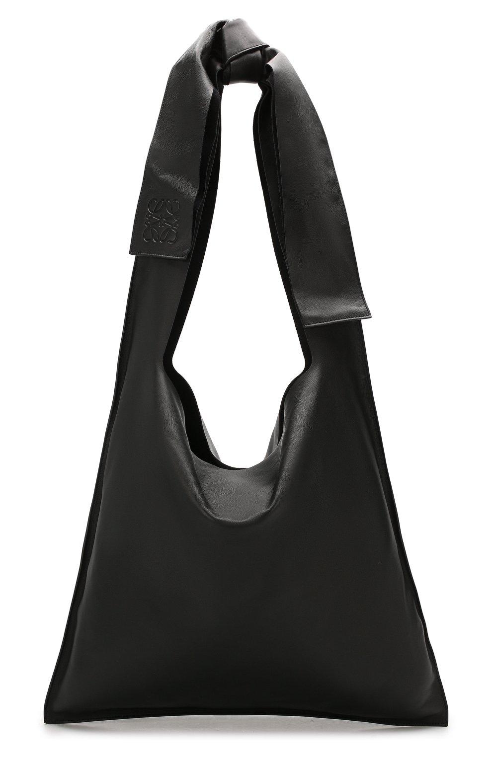 Женская сумка bow LOEWE черного цвета, арт. 329.77.Z19 | Фото 1