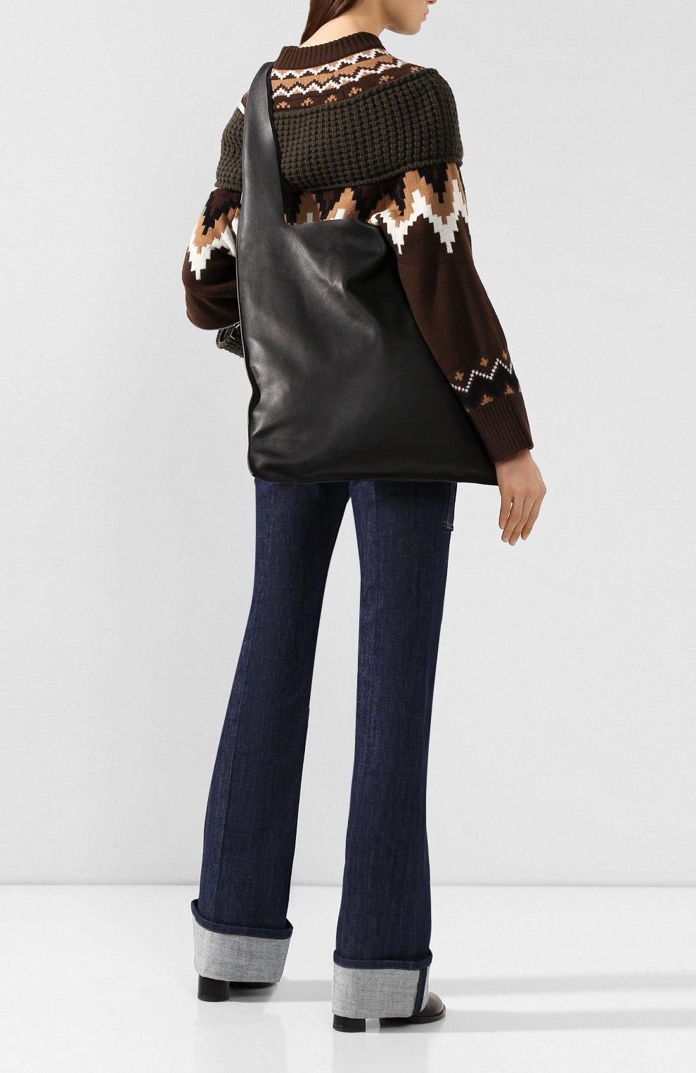 Женская сумка bow LOEWE черного цвета, арт. 329.77.Z19 | Фото 2