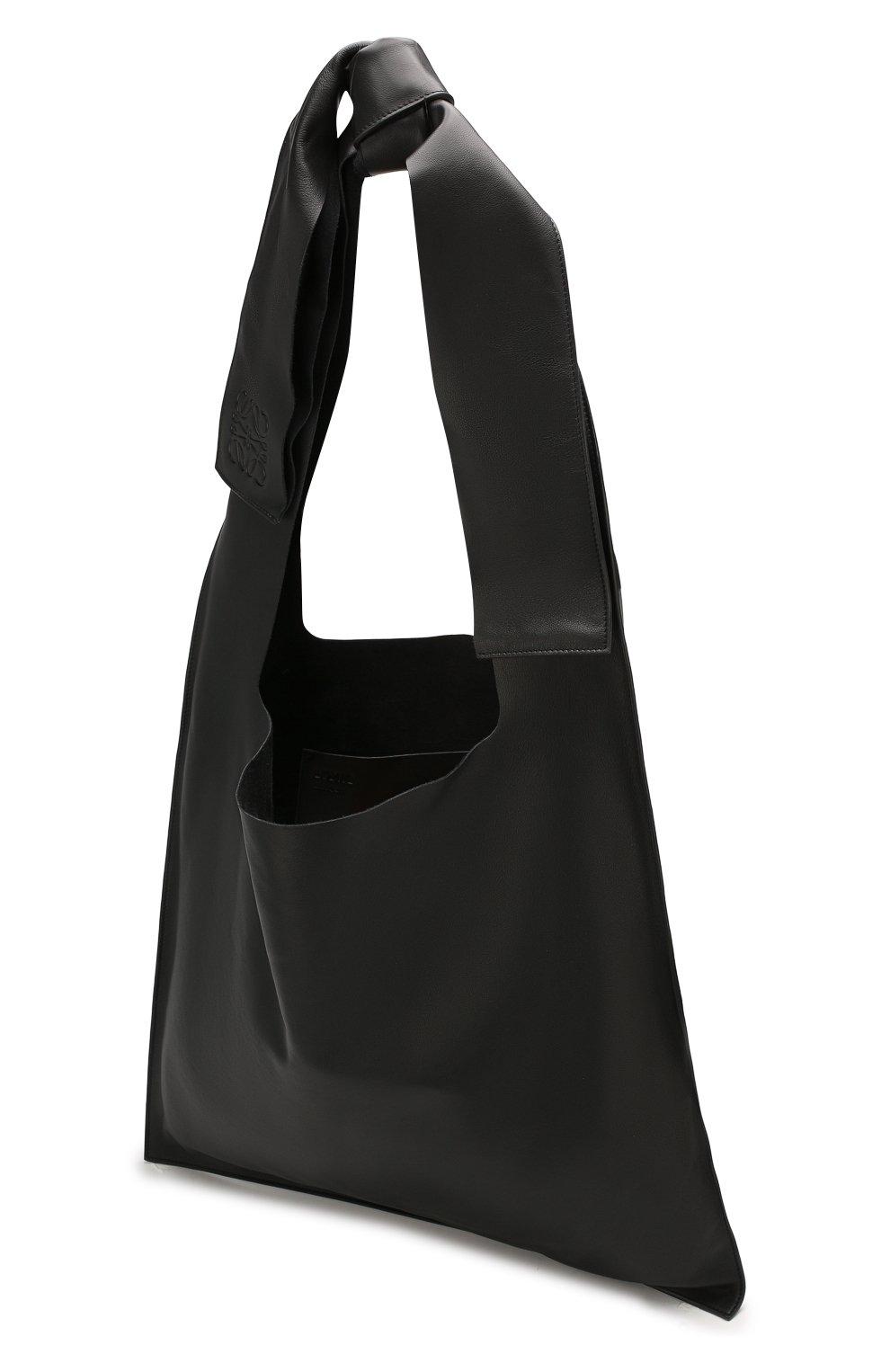 Женская сумка bow LOEWE черного цвета, арт. 329.77.Z19 | Фото 4