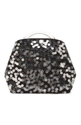 Женская сумка DRIES VAN NOTEN черного цвета, арт. 192-11529-349 | Фото 1