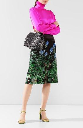 Женская сумка DRIES VAN NOTEN черного цвета, арт. 192-11529-349 | Фото 2