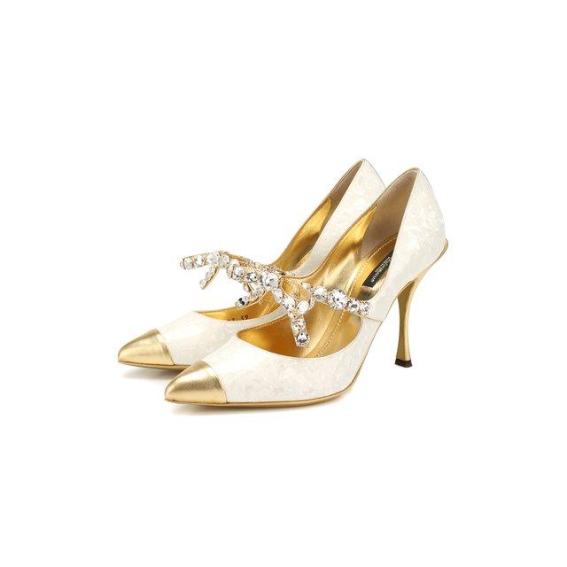 Кожаные туфли Lori Dolce & Gabbana