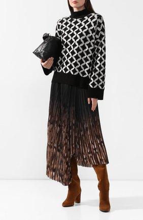 Женские замшевые сапоги LE SILLA коричневого цвета, арт. 7090P080R3XLP0W | Фото 2