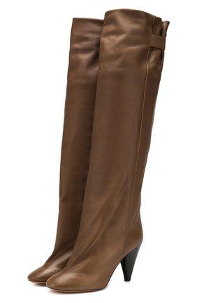 Кожаные сапоги Lacine | Фото №1