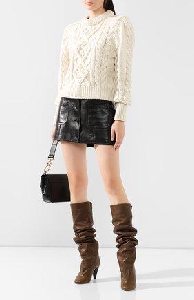 Кожаные сапоги Lacine | Фото №2
